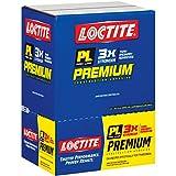 Loctite PL Premium Polyurethane Construction Adhesive, Case of Twelve 10-Ounce Cartridges (1390595-12)
