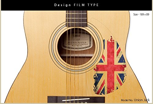 Healingshield Premium Acoustic Guitar Pickguard Basic Type Union Jack by Healing shield (Image #1)
