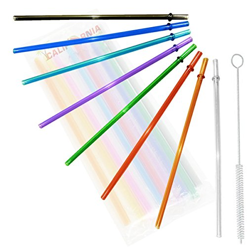 Plastic Straw Set - 9