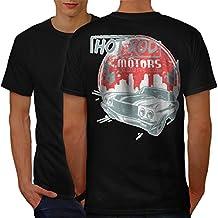 Hot Rod Motors Club Exclusive Men S-5XL T-shirt Back | Wellcoda