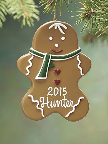 - Miles Kimball Personalized Boy Gingerbread Ornament