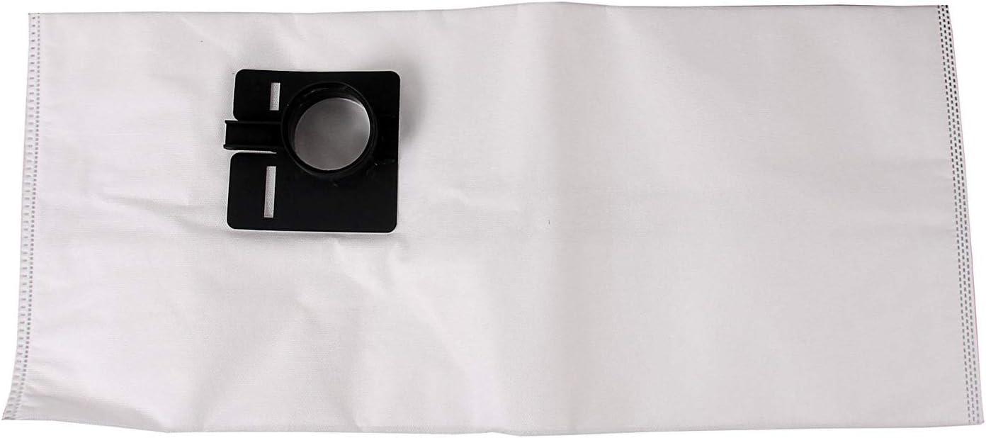 PW2 Optimal 5 Filtersack geeignet f/ür Absaugmobile Festool Cleantec CT 33 E Adapter aus Kunststoff Stausaugerbeutel verschlie/ßbar Vlies Beutel Filters/äcke