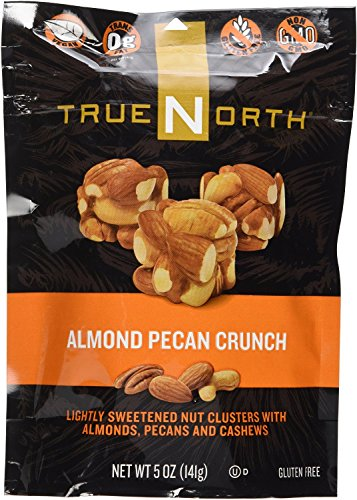 (True North Almond Pecan Crunch Lightly Sweetened Nut Clusters with Almonds, Pecans and Cashews, 5 Oz (Pack of 3))