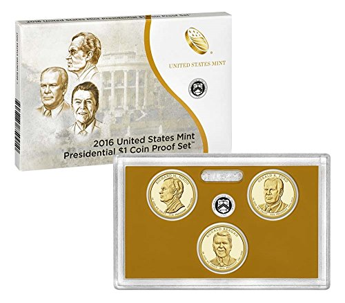 2007 S 2007-2016 S Presidential Dollar Proof Sets in OGP 39 Coin Complete Set Uncirculated