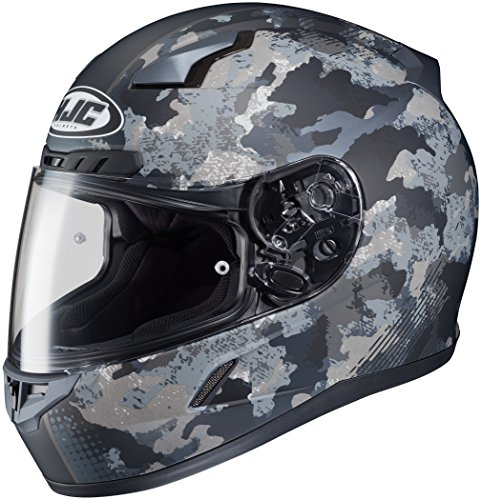 - HJC XF-10-0851-1835-08 CL-17 Void Helmet, Distinct Name: MC-5F, Gender: Mens/Unisex, Helmet Category: Street, Helmet Type: Full-face Helmets, Primary Color: Gray, Size: 2XL