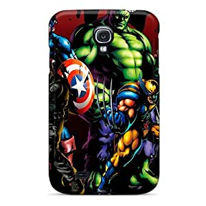 Samsung Galaxy S4 Cws456Oasc Support Personal Customs HD Ant Man Pattern Scratch Resistant Hard Cell-phone Case -EricHowe