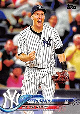 Amazoncom 2018 Topps 84 Todd Frazier New York Yankees