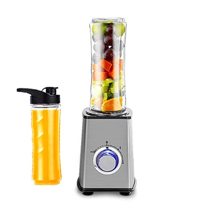 WGFGXQ Portable Juicer, 300W, Quick Juice, Suitable for Outdoor, Fitness, Work, Etc.