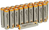 #4: AmazonBasics AAA Performance Alkaline Batteries (20-Pack) - Packaging May Vary