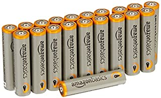 AmazonBasics AAA Performance Alkaline Batteries (20-Pack) - Packaging May Vary (B00NTCHCU2) | Amazon price tracker / tracking, Amazon price history charts, Amazon price watches, Amazon price drop alerts