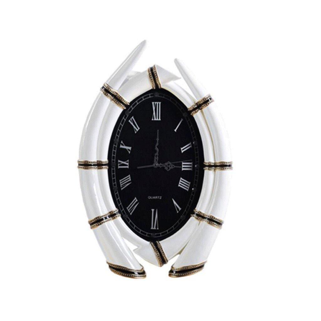 GAOLILI リビングルームミュート時計ベッドルーム装飾壁時計クリエイティブファッションウォールクロック B07C3R46ZW