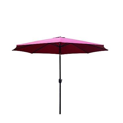 Amazon Com Peach Tree Sunbrella 10ft Aluminum Outdoor Patio