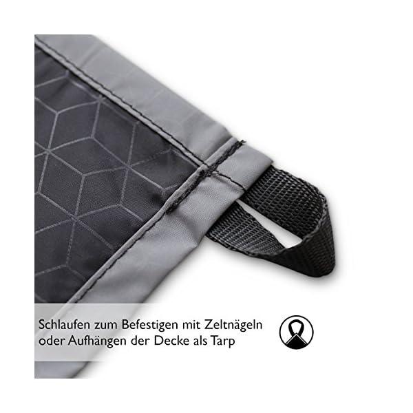 511mtqfN7SL BERGBRUDER Nylon Picknickdecke im Hosentaschenformat - Wasserdicht, Ultraleicht & kompakt - Ground Sheet, Pocket Blanket…