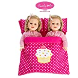 Beverly Hills Reversible Doll twin/friend sleeping bag Fits American girl 18'' Doll offers