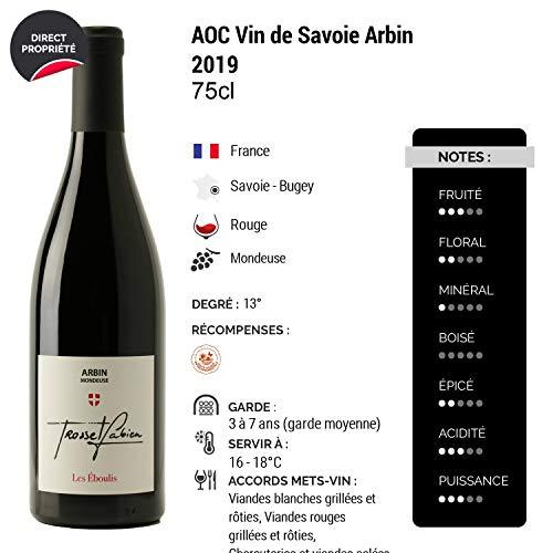 Vin-de-Savoie-Arbin-Mondeuse-les-Eboulis-Rouge-2019-Fabien-Trosset-Vin-AOC-Rouge-de-Savoie-Bugey-Cepage-Mondeuse-Lot-de-12x75cl-Haute-Valeur-Environnementale