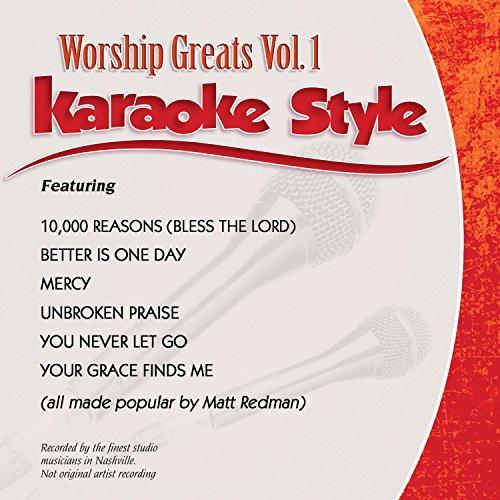 Daywind Karaoke - Daywind Karaoke Style: Worship Greats Vol 1