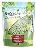 Food to Live Green Peas Whole (Green Vatana) (2.5 Pounds)