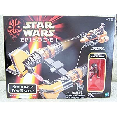 Star Wars Episode I Sebulba's Pod Racer: Toys & Games