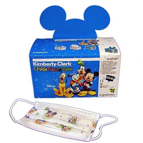 Kimberly-Clark Child Disney Face Mask - Case of 10 boxes, 75 masks per box by Kimberly-Clark