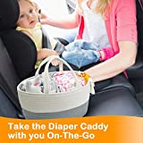 Baby Diaper Caddy Organizer - Changing Table