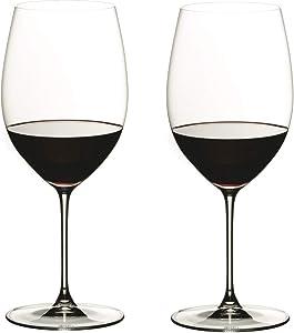 Riedel Veritas Cabernet/Merlot Wine Glasses, Set of 2, Clear