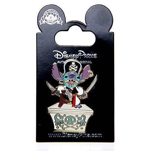 Disney Parks Stitch Pin Pirate's of the Caribbean Lilo and (Caribbean Disney Pin)