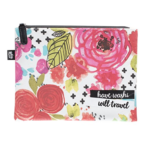 DaySpring Bible Journaling Illustrated Faith - Kangaroo Pouch - Floral (70162)