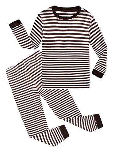 (Striped Baby Boys Long Sleeve Pajamas 100% Cotton Sleepwear Infant Size 18-24 Mothes)