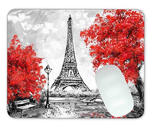 Paris,European City Landscape Mouse pad Gaming Mouse pad Mousepad Nonslip Rubber Backing