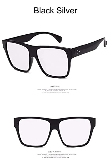 4a8e78246dc Korean Oversized Square Sunglasses Women Men Luxury Brand Big Black Sun  Glasses Mirror Shades Lunette Femme