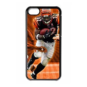 iPhone 5c Black Cell Phone Case Cincinnati Bengals NFL Phone Case For Girls NLYSJHA2251