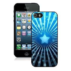 Custom Iphone 5S Protective Case Merry Christmas iPhone 5 5S TPU Case 86 Black