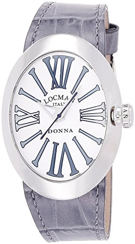 LOCMAN watch change Donna quartz belt 3 with this ladies 0410 041000AGGYAGPSA-K-W Ladies