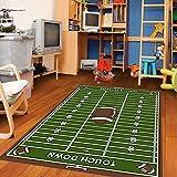 Furnish my Place Football field Ground Kids Rug