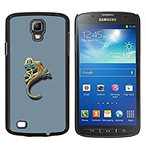 "Be-Star Único Patrón Plástico Duro Fundas Cover Cubre Hard Case Cover Para Samsung i9295 Galaxy S4 Active / i537 (NOT S4) ( Cute Funny minimalista Gecko Gecko Lizard"" )"