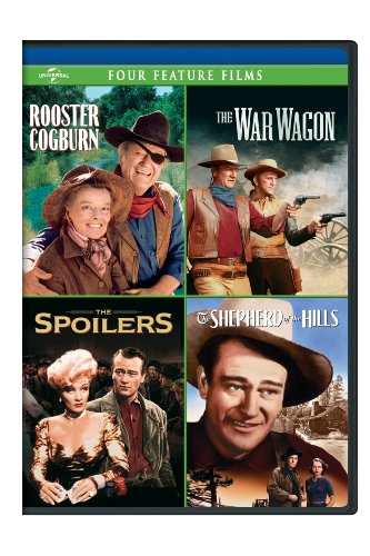 Other Rooster - Rooster Cogburn / The War Wagon / The Spoilers (1942) / Shepherd of the Hills Four Feature Films