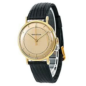 Jaeger LeCoultre Vintage Collection Mechanical-Hand-Wind Male Watch Vintage (Certified Pre-Owned)