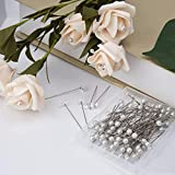 AIEX Pearl Head Pins Sewing Pin Corsages Pins