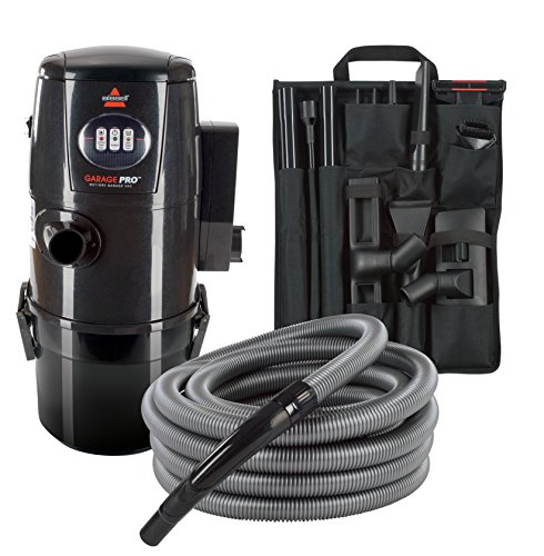 BISSELL Garage Pro Wet/Dry Vacuum Complete Wall-Mounting System, 18P03 – Corded