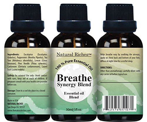 Respiratory-Essential-Oil-Breathe-Blend-30ml-100-Natural-Pure-Therapeutic-Grade-for-Aromatherapy-Scents-Diffuser-Sinus-Relief-Allergy-Congestion-Cold-Cough-Headache