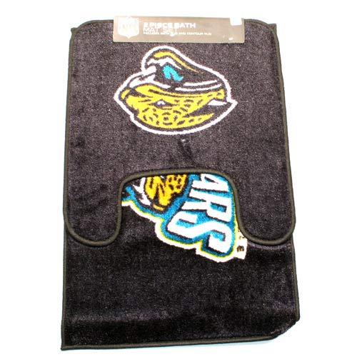 Jacksonville Jaguars Two Piece Bath Rug Set