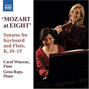 Mozart at 8: Early Flute S