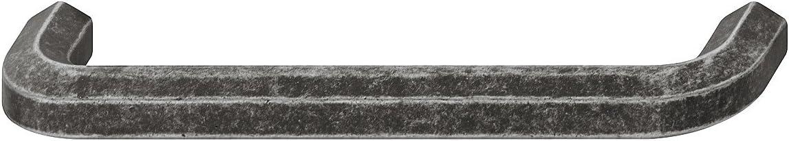 1 St/ück Kommoden-Griff Antik im Landhaus-Stil Gedotec Bogengriff Schubladen-Griff Vintage M/öbelgriff schwarz verzinnt Schrankgriff mit Schrauben Stangengriff aus Metall BA 160 mm H10119
