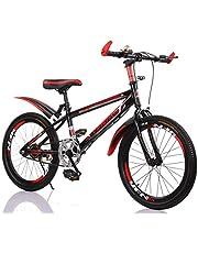 "YFNIAO Unisex Youth Mountain Bike 22"", Black, Size L"