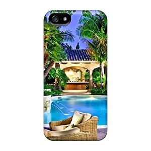 XSX50808NKAN Cases Covers Skin For Iphone 5/5s (luxury Summer Resort)