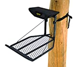 Rivers Edge RE551,Big Foot XL, Lever-Action Hang-On Tree Stand with TearTuff Flip-up Mesh Seat, Large 36.5' x 24' Platform, Footrest