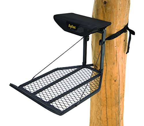 Rivers Edge RE551,Big Foot XL, Lever-Action Hang-On Tree Stand with TearTuff Flip-up Mesh Seat, Large 36.5