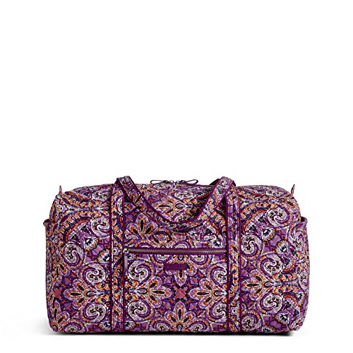 - Vera Bradley Iconic Large Travel Duffel, Signature Cotton, Dream Tapestry