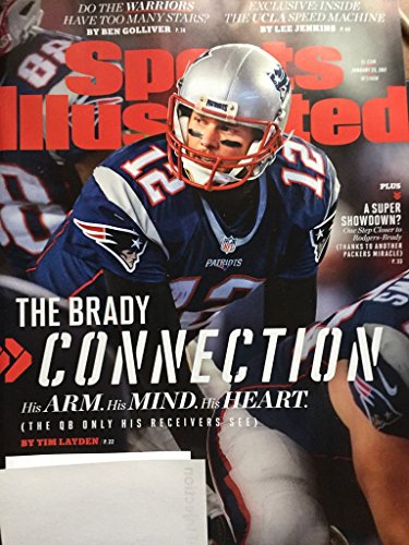 Sports Illustrated Magazine (January 23, 2017) The Brady Connection: Tom Brady New England Patriots Cover