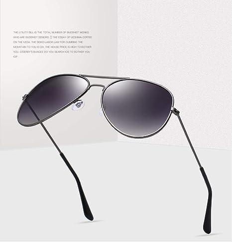 Gafas de Sol polarizadas UV400 de Piloto de aleación Premium ...